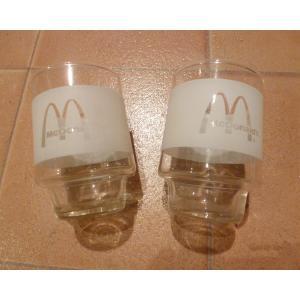グラス マクドナルド 2個セット USED