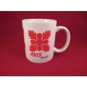 AVISレンタカーハワイのマグカップ USED品 陶製 サイズ 約9.5×8cm キレイな状態です。...
