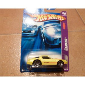 ミニカー ホットウィールシボレー カマロ Z28 イエロー ミニカー hot wheels アメリカ雑貨 ホットホイール|aseff