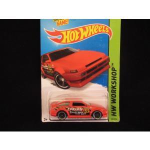 ホットウィール 86 カローラ ハチロク ミニカー hot wheels アメリカ雑貨 コレクション ドリフト 走り屋|aseff