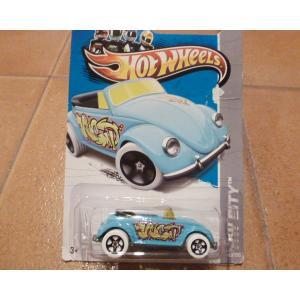ホットウィール ビートル コンバーチブル オープンカー ミニカー hot wheels アメリカ雑貨 コレクション|aseff