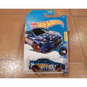 ホットウィール ミツビシ ランサー エボリューション 新品 ミニカー hot wheels アメリカ雑貨 コレクション ランエボ|aseff