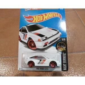 ダイキャストカー ホットウィール ホンダ CRX 白 ミニカー hot wheels アメリカ雑貨 コレクション honda|aseff