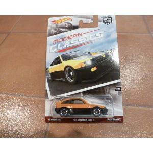 ダイキャストカー ホットウィール ホンダ CRX オレンジ ミニカー hot wheels アメリカ雑貨 コレクション honda|aseff
