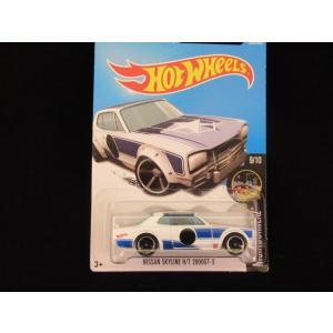 ダイキャストカー ホットウィール 日産 スカイライン ハコスカ 白 ミニカー hot wheels アメリカ雑貨 skyline|aseff