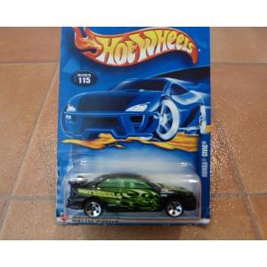 ダイキャストカー ホットウィール ホンダ シビック EJ7 黒 ミニカー hot wheels アメリカ雑貨 コレクション|aseff