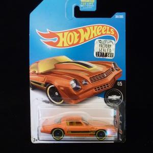ホットウィール ダイキャストカー HOT WHEELS シボレー セカンド カマロ オレンジ ミニカー ホットホイール|aseff
