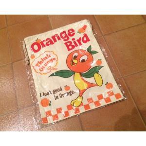 バッグ 巾着 <ネコポス対応商品>オレンジバード バッグ アメリカ雑貨 キャラクターグッズ aseff