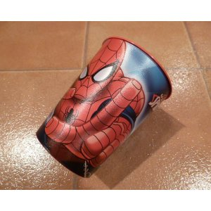 パーティー カップ スパイダーマン プラスティックカップ アメリカンヒーロー アメリカ雑貨 ハワイ雑貨|aseff