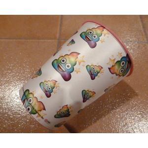 パーティー カップ Poo ピンク プラスティックカップ アメリカ雑貨 ハワイ雑貨 パーティーグッズ|aseff