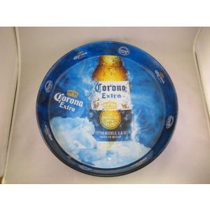 トレイ コロナビール スチールトレイ おぼん アメリカ雑貨 ノベルティグッズ corona beer ディスプレー インテリア ダイナー ダイニング|aseff