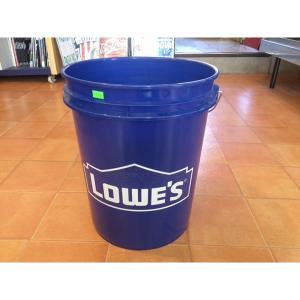 バケツ LOWE'S USA プラスティック製 バケツ アメリカングッズ ディスプレイ ガーデニング 洗車 ガーデニング|aseff