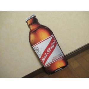 レッドストライプ ボトル メタルサイン 新品 アメリカン雑貨 TIN SIGN かんばん インテリア ガレージ 店舗 ディスプレー ブリキ|aseff