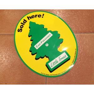 リトルツリー <ネコポス対応商品> ストアデカール リトルツリー ステッカー オフィシャル Little trees|aseff