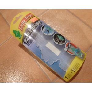 リトルツリー <ネコポス対応商品> ツリーハウス クリア リトルツリー ケース  芳香剤 Little trees|aseff