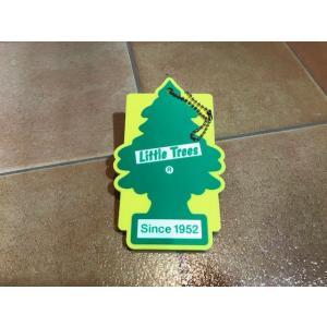 <ネコポス対応商品>  リトルツリー パスケース グリーン カードケース アメリカ雑貨 |aseff