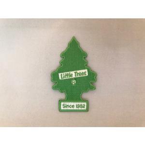 リトルツリー アイロン バッジ グリーン シンボル <ネコポス対応商品> ワッペン アメリカ 雑貨|aseff