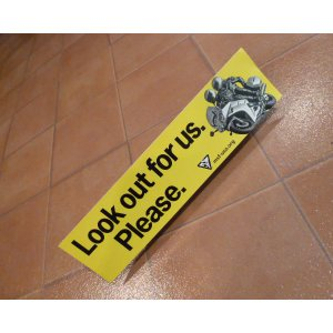 バンパーステッカー Lock Out アメリカ雑貨 バンパーデカール ロサンゼルス usdm hdm <ネコポス対応商品>|aseff