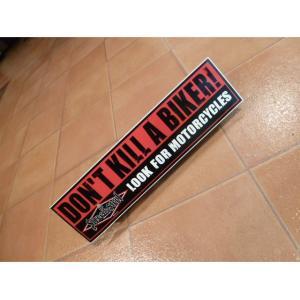 バンパーステッカー Don`t Kill A アメリカ雑貨 バンパーデカール ロサンゼルス usdm hdm jdm <ネコポス対応商品>|aseff