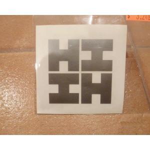 <ネコポス対応商品> ハワイファイネスト ステッカー小 シルバー HDM USDM ステッカー ハワイ 雑貨|aseff