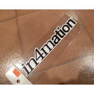 デカール in4mation インフォメーション ハワイ アメリカ雑貨 アイランドスタイル <ネコポス対応商品>|aseff