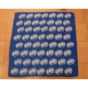 <ネコポス対応商品> ミラーライトビール バンダナ USA Miller Lite Beer ハワイ アメリカ 雑貨  aseff