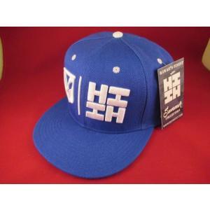 ハワイファイネスト  ブルー 青 スパップバック キャップ 帽子 ハワイ HDM hawaii's finest ハワイアン|aseff