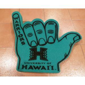シャカ ハワイアスレチックス シェイクハンド ハワイ大学 UH 応援グッズ 公式グッズ|aseff