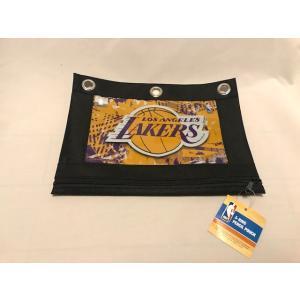 <ネコポス対応商品> ペンケース ポーチ ロサンゼルス レイカーズ NBA 公式グッズ Lakers アメリカ雑貨 aseff