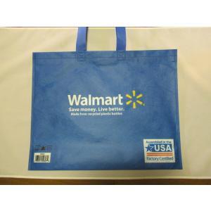 エコバッグ ウォルマート Walmart アメリカ雑貨 usdm hdm トートバック 北米 ロサンゼルス USA <ネコポス対応商品>|aseff