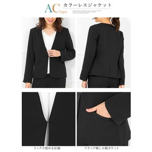 スーツ レディース ビジネススーツ リクルートスーツ テーパードパンツ 通勤 ビジネス 就活 面接 大きいサイズ 試着 あすつく|ashblond|13