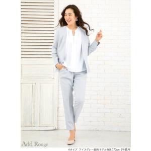 スーツ レディース ビジネススーツ リクルートスーツ テーパードパンツ 通勤 ビジネス 就活 面接 大きいサイズ 試着 あすつく|ashblond|18