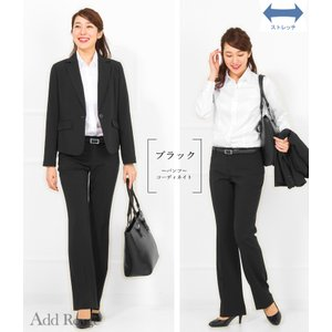 スーツ レディース リクルートスーツ 女性 パンツスーツ スカートスーツ 3点セット ストレッチ 通勤 就活 ビジネス 大きいサイズ 40代 試着 あすつく ashblond 15