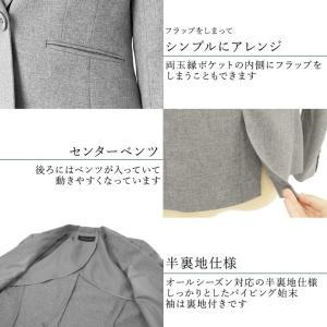 クーポン対象 スーツ レディース リクルートスーツ 女性 パンツスーツ 2点セット 通勤 ビジネス 就活 面接 大きいサイズ 小さいサイズ 40代 試着 あすつく|ashblond|16