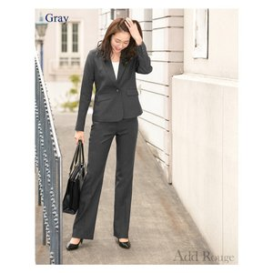 クーポン対象 スーツ レディース リクルートスーツ 女性 パンツスーツ 2点セット 通勤 ビジネス 就活 面接 大きいサイズ 小さいサイズ 40代 試着 あすつく|ashblond|05