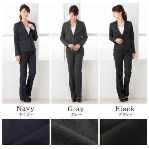 クーポン対象 スーツ レディース リクルートスーツ 女性 パンツスーツ 2点セット 通勤 ビジネス 就活 面接 大きいサイズ 小さいサイズ 40代 試着 あすつく|ashblond|07