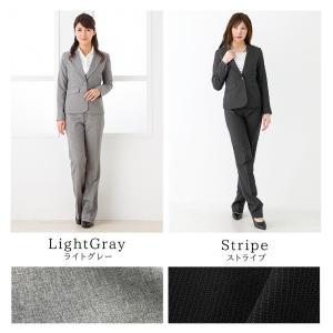 クーポン対象 スーツ レディース リクルートスーツ 女性 パンツスーツ 2点セット 通勤 ビジネス 就活 面接 大きいサイズ 小さいサイズ 40代 試着 あすつく|ashblond|08