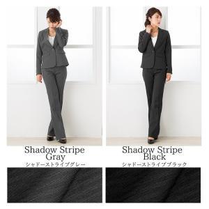 クーポン対象 スーツ レディース リクルートスーツ 女性 パンツスーツ 2点セット 通勤 ビジネス 就活 面接 大きいサイズ 小さいサイズ 40代 試着 あすつく|ashblond|09