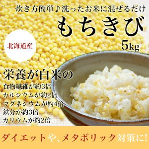 きび(もちきび) 5kg 北海道 無農薬
