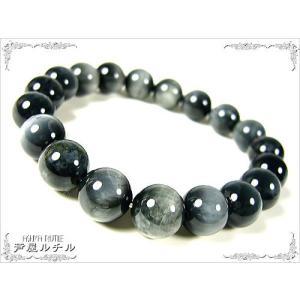 ブラックパンサーウルフアイ/天然石/パワーストーン/ブレスレット/10mm|ashiya-rutile