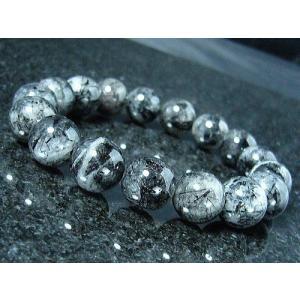 ≪完売御礼≫ブラックルチル/天然石パワーストーンブレスレット/14mm/1点もの|ashiya-rutile