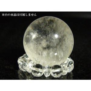 天然水晶玉/パワーストーン・土地・家屋・部屋のお清め・浄化に/25mm/1点もの|ashiya-rutile