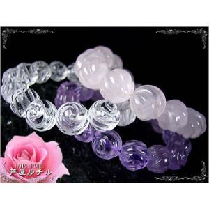 青いバラ/白いバラ/紅のバラ/天然石の花束!薔薇彫刻の水晶&アメジスト&ローズクォーツ|ashiya-rutile