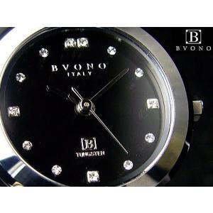 ★完売御礼★高級素材タングステン使用/イタリーブランドBVONO ITALY正規品/腕時計|ashiya-rutile