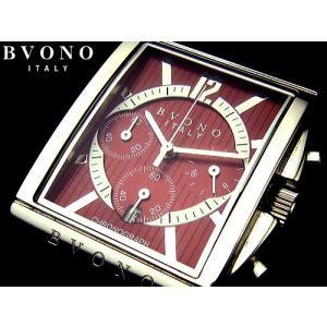 ★完売御礼★蔵出し品/ヴィンテージレッド・クロノグラフBVONO ITALY正規品/腕時計|ashiya-rutile