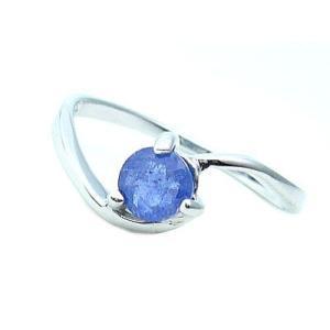 タンザナイトの指輪/スターリングシルバー|ashiya-rutile