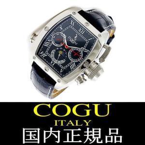 COGU ITALY コグ イタリー 腕時計 国内正規品 サン&ムーン 機械式腕時計 自動巻き|ashiya-rutile