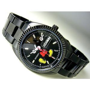 ≪完売御礼≫腕時計【DISNEY_Y】オールドミッキーマウス腕時計/ディズニー公認ライセンス品/ブラック|ashiya-rutile
