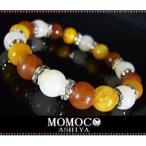 ≪完売御礼≫ASHIYA-MOMOCO/パワーストーン ブレスレット/Minakshi/サチャロカ大玉10mm|ashiya-rutile