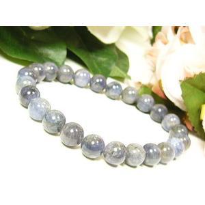 ≪完売御礼≫宝石タンザナイト/天然石パワーストーンブレスレット8mm/1点もの|ashiya-rutile